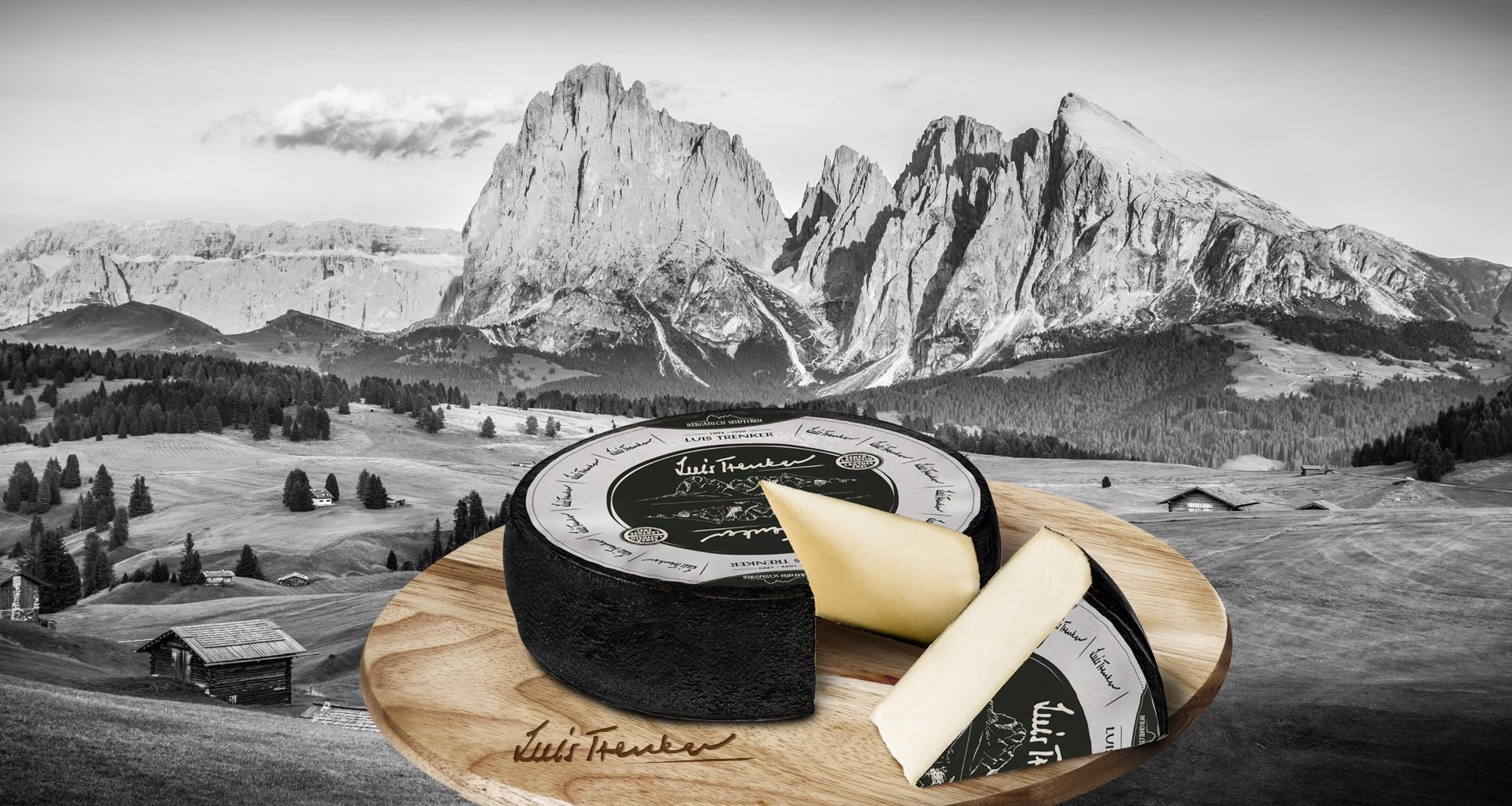 Willkommen auf der Luis Trenker Käse Seite